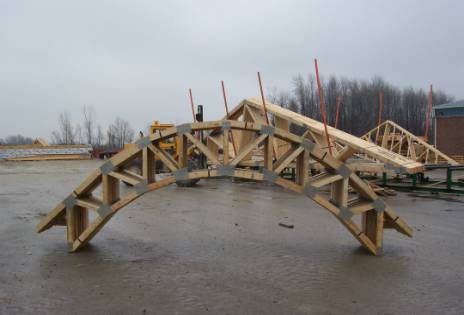 London roof truss inc for Pre engineered trusses